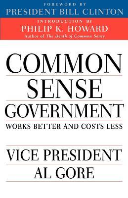 Common Sense Government Cover
