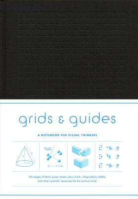 Grids & Guides (Black): A Notebook for Visual Thinkers Cover Image