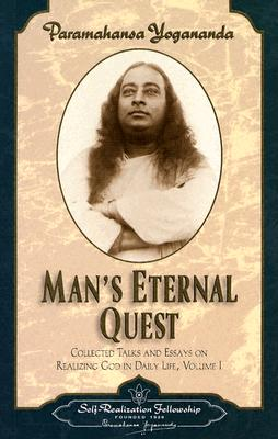 Man's Eternal Quest (Collected Talks and Essays #1) Cover Image