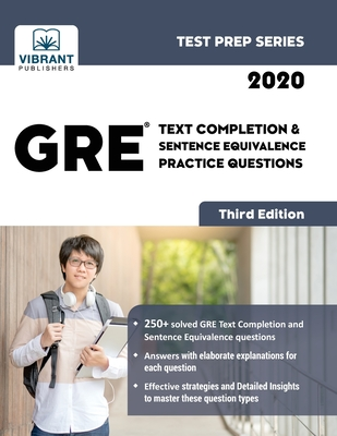 GRE Text Completion and Sentence Equivalence Practice Questions (Test Prep #9) Cover Image