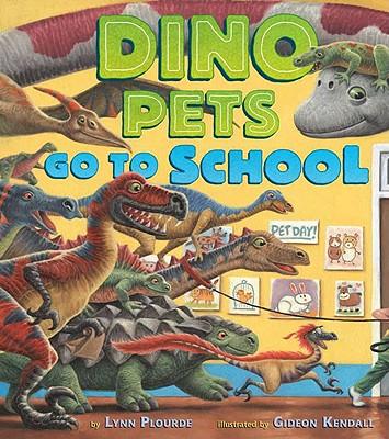 Dino Pets Go to School Cover