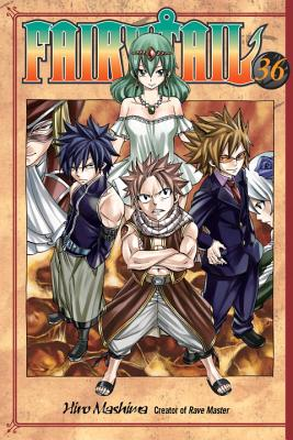 Fairy Tail, Volume 36 Cover