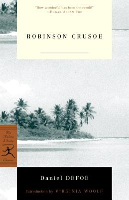 Robinson Crusoe (Modern Library Classics) Cover Image