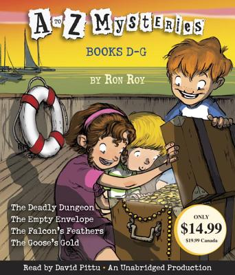 A to Z Mysteries: Books D-G Cover Image