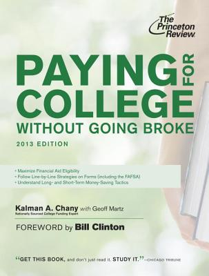 Paying for College Without Going Broke, 2013 Edition Cover Image