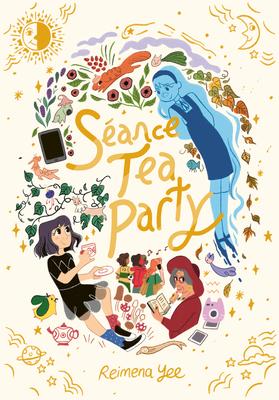 Séance Tea Party: (A Graphic Novel) Cover Image