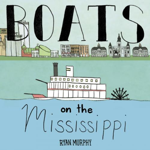 Boats on the Mississippi Cover Image