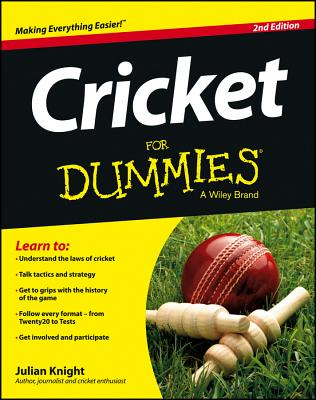 Cricket for Dummies Cover Image