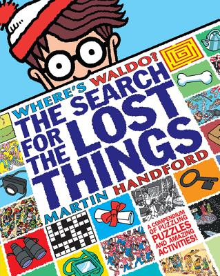 Where's Waldo? the Search for the Lost Things Cover