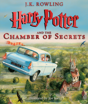 Harry Potter and the Chamber of Secrets: The Illustrated Edition (Harry Potter, Book 2) Cover Image