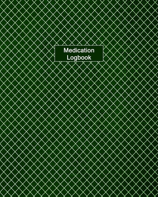 Medication Logbook: Large Print - Daily Medicine Tracker Notebook- Undated Personal Medication Organizer Cover Image