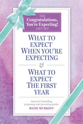 What to Expect: The Congratulations, You're Expecting! Gift Set: (Includes What to Expect When You're Expecting and What to Expect The First Year) Cover Image