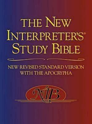 New Interpreter's Study Bible-NRSV Cover Image
