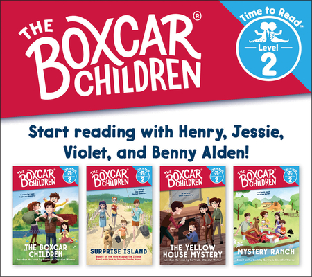 The Boxcar Children Early Reader Set #1 (The Boxcar Children: Time to Read, Level 2) cover