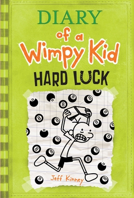 Diary of a Wimpy Kid # 8: Hard Luck Cover Image