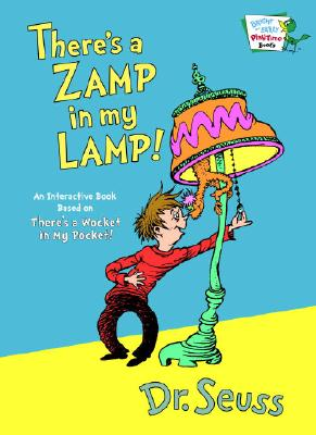 Cover for There's a Zamp in My Lamp (Bright & Early Playtime Books)