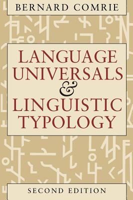 Language Universals and Linguistic Typology Cover