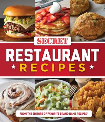 Secret Restaurant Recipes Cover Image