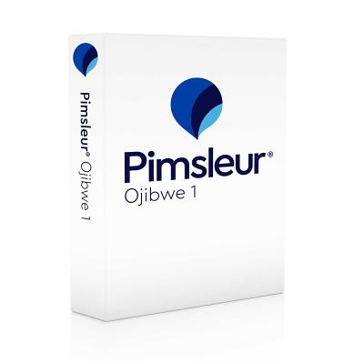 Pimsleur Ojibwe Level 1 CD: Learn to Speak and Understand Ojibwe with Pimsleur Language Programs (Comprehensive #1) Cover Image