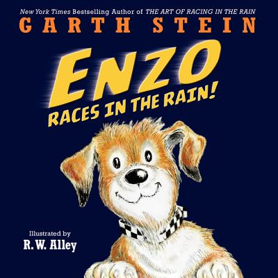 Enzo Races in the Rain! Cover Image