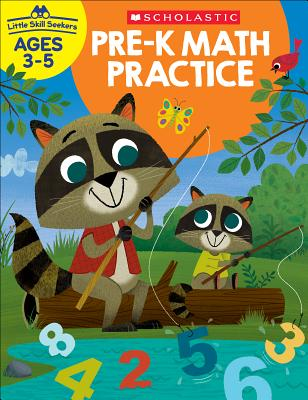 Little Skill Seekers: Pre-K Math Practice Workbook Cover Image