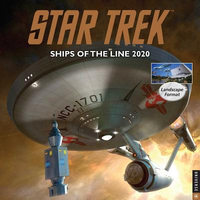 Star Trek Ships of the Line 2020 Wall Calendar Cover Image