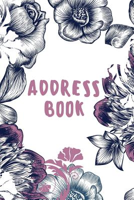 Address Book: Small Address Book - Alphabetical With Tabs (6