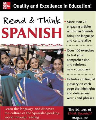 Read and Think Spanish: Learn the Language and Discover the Culture of the Spanish-Speaking World Through Reading Cover Image