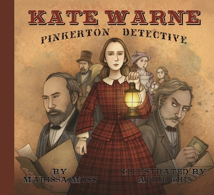 Kate Warne, Pinkerton Detective Cover