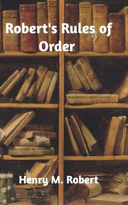 Robert's Rules of Order Cover Image