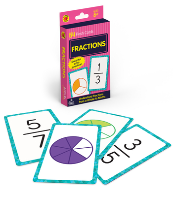 Fractions Flash Cards (Brighter Child Flash Cards) Cover Image
