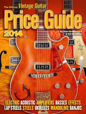 The Official Vintage Guitar Magazine Price Guide Cover Image