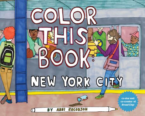 Color this Book: New York City Cover Image