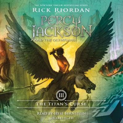 The Titan's Curse: Percy Jackson and the Olympians: Book 3 Cover Image
