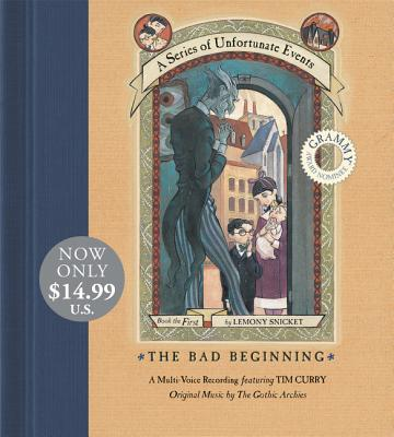 Series of Unfortunate Events #1 Multi-Voice CD, A:The Bad Beginning CD Low Price Cover Image