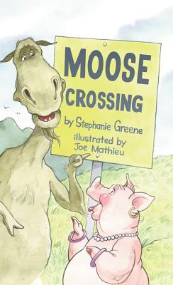 Moose Crossing Cover