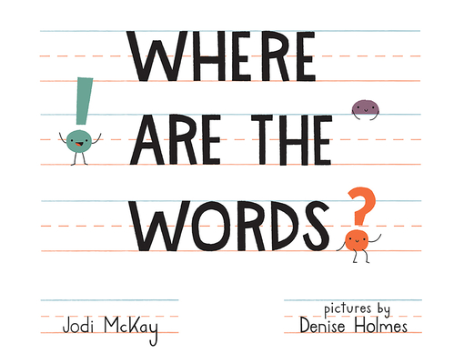 Where Are the Words? Cover