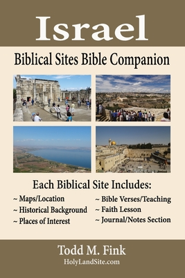 Israel Biblical Sites Bible Companion Cover Image