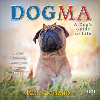 2021 Dogma: A Dog's Guide to Life Mini Calendar Cover Image