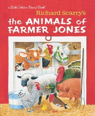 Richard Scarry's The Animals of Farmer Jones Cover Image