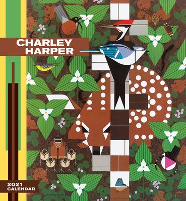 Charley Harper 2021 Wall Calendar Cover Image
