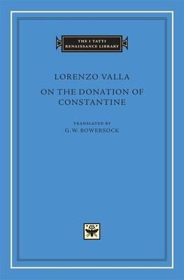 Lorenzo Valla on the Donation of Constantine Cover