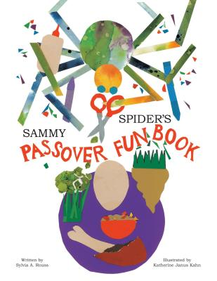 Sammy Spider's Passover Fun Book (Sammy Spider Set) Cover Image
