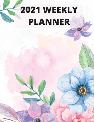 2021 weekly planner Cover Image