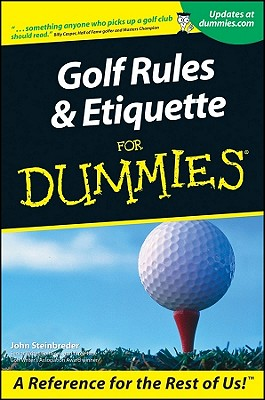 Golf Rules and Etiquette for Dummies Cover Image