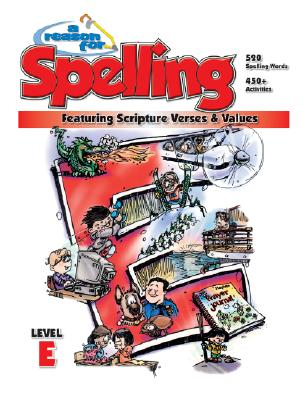 A Reason for Spelling: Student Workbook Level E Cover Image
