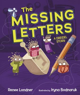The Missing Letters: A Dreidel Story Cover Image