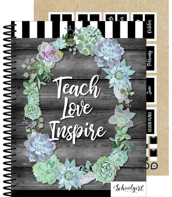 Simply Stylish Teacher Planner Cover Image