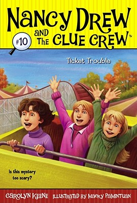 Ticket Trouble (Nancy Drew and the Clue Crew #10) Cover Image
