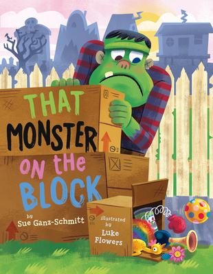 Cover for That Monster on the Block